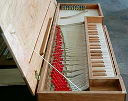 Fretted Clavichord