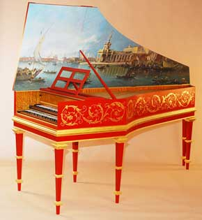 Flemish Double-Manual Harpsichord