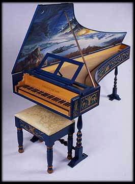 Italian Harpsichord after Grimaldi